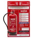 Water Fire Extinguisher Station