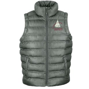 S.O.A Embroidered Mens Padded Gilet