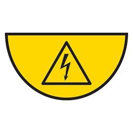 Electrical Hazard - Temporary Floor Sticker