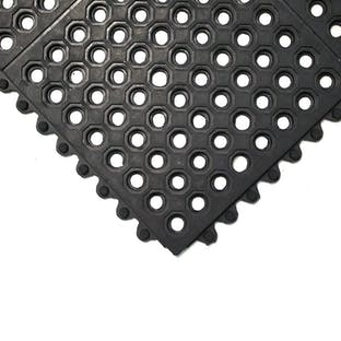 Fatigue-Step Interlocking Tiles