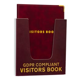 GDPR Compliant Visitor Book Holder
