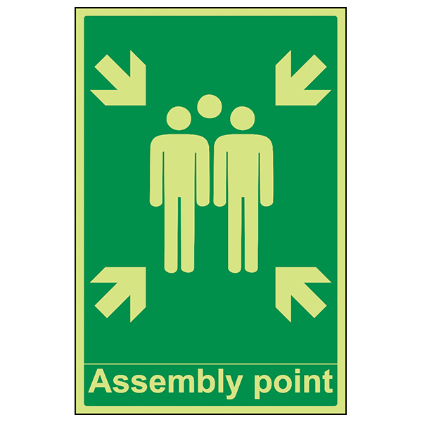 Assembly Point With Family - Portrait