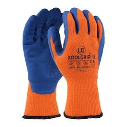 UCI Koolgrip®-II Thick Orange Latex Palm Coated Gloves