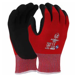 UCI Adept Red Anti-Viral Nitrile Palm Gloves