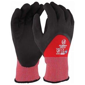 UCI Adept KC Anti-Viral Nitrile Knuckle Coated Gloves