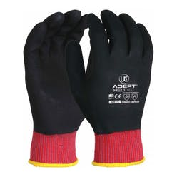 UCI Adept FC Anti-Viral Nitrile Coated Gloves