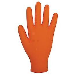 Bodyguards Finite ® Orange Grip Nitrile Gloves