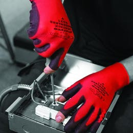 Polyco Matrix Fingerless Gloves