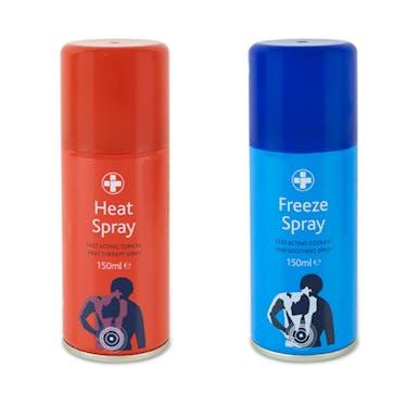 C.M.S Freeze and Heat Sprays