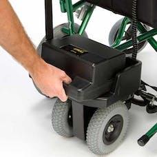 Heavy Duty Dual Wheel Powerstroll