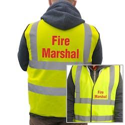 Fire Marshal Hi-Vis Vest