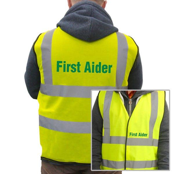 First Aider Hi-Vis Vest