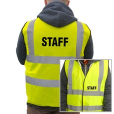 Basic Hi-Vis Vest - Staff