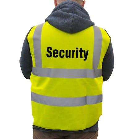 Hi-Viz Vest - Security