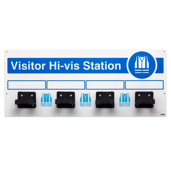 PPE Visitor Hi-Vis Station