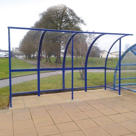 Holton Open Fronted Bus Shelter