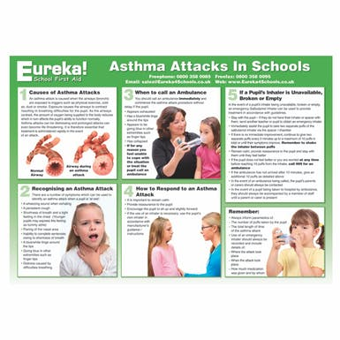Asthma Attacks in Schools Poster
