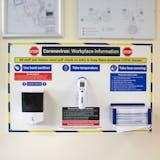 Coronavirus Workplace Safety Station