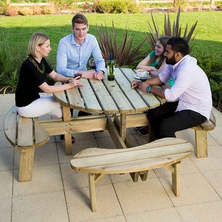 Hillingdon Octagonal Picnic Table