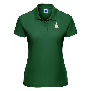 S.O.A Embroidered Ladies Polo Shirt