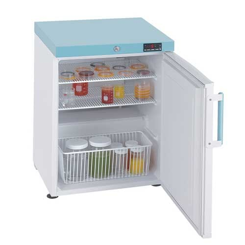 Lec 82L Solid Door Countertop Lab Fridge