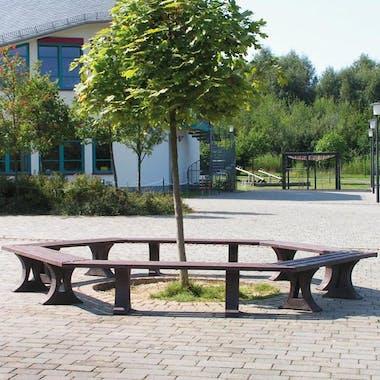 Lerwick Round Bench