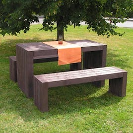 London Bench and Picnic Table