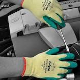 Polyco Matrix S Green Gripper Gloves