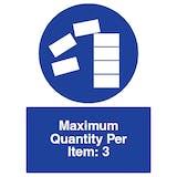 Maximum Quantity Per Item
