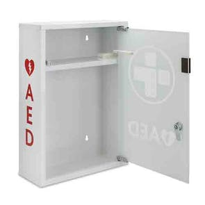 Metal AED Wall Cabinet with Glass Door