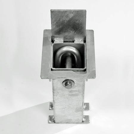 Motorcycle Locking Loop - Cast In