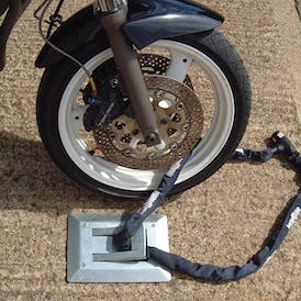 Motorcycle Locking Loop - Bolt Down