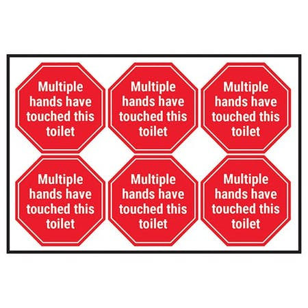 Multiple Hands Have Touched This Toilet