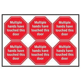 Multiple Hands Have Touched This Door
