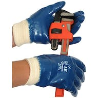 Nitrile Coated Knitwrist Gloves