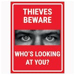 Criminals Beware Who's Looking At You? Red