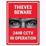 Criminals Beware 24HR CCTV In Operation Red