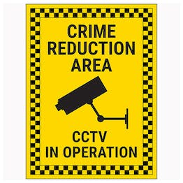 Crime Reduction Area / CCTV In Operation