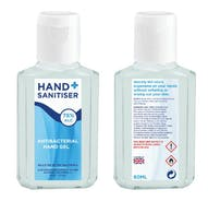 Hand+ Sanitiser 75% Alcohol Hand Gel