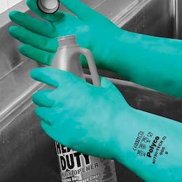 Polyco Nitri-Tech III® Chemical Resistant Gloves