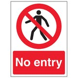 No Entry / Restricted Access