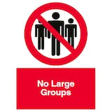 No Large Groups