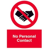 No Personal Contact