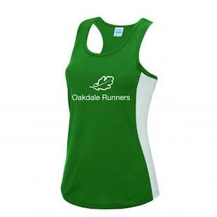 Oakdale Runners Ladies Contrast Vest