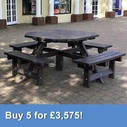 Octagonal Picnic Table