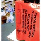 Orange Clinical Waste Sacks