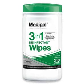Medipal 3in1 Disinfectant Wipes