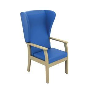 Patient High Back Arm Chair with Wings