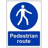 Pedestrian Safety Signs