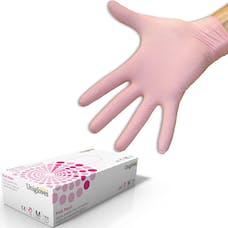 Unigloves Pink Pearl Nitrile Gloves